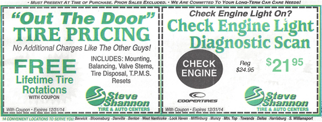 Out the door tire pricing