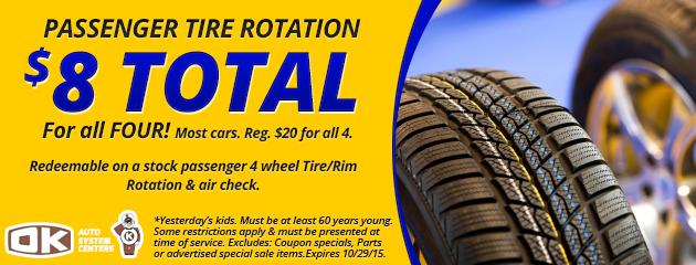 Tire Rotation