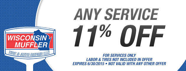 11% Off Any Service