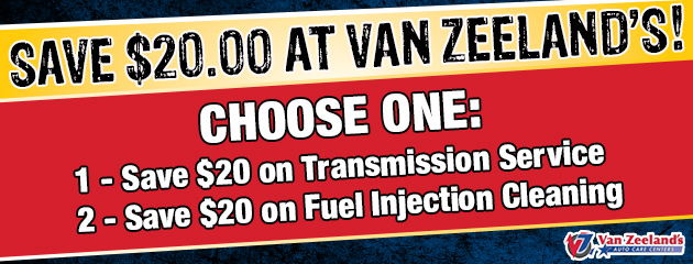 Save $20 on Transmission Service Or Fuel Injection Cleaning