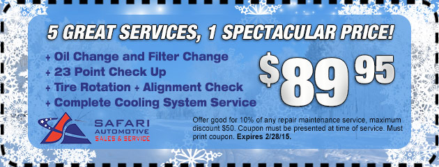 5 Great Services, 1 spectacular price!