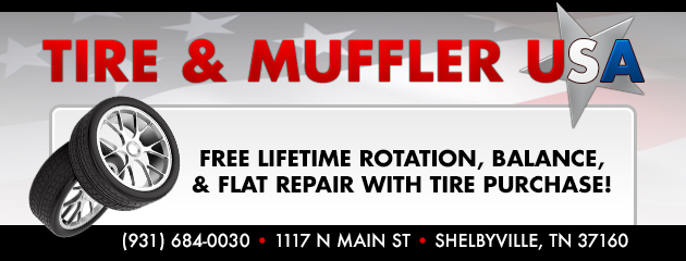 FREE Lifetime Rotation, Balance, & Flat Repair with Tire Purchase!