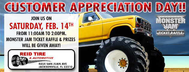 Customer Appreciation Day!! Saturday, Feb. 14th from 11:00am to 2:00pm