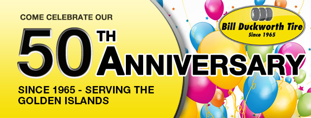Come Celebrate our 50th Anniversary!
