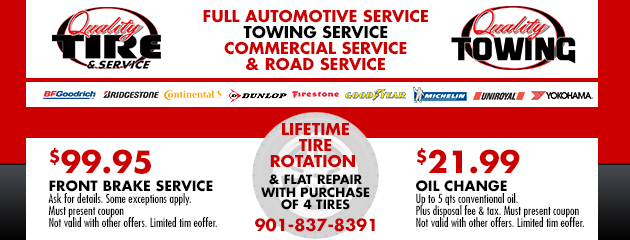 Brake Service And Oil Change Specials