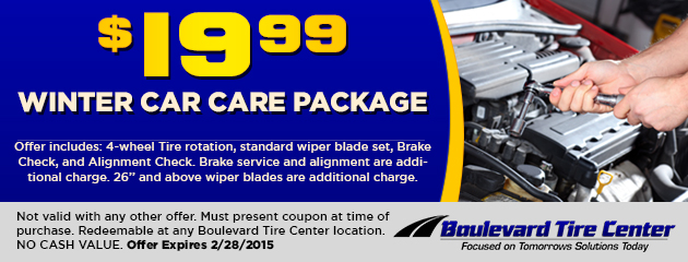 $19.99 Winter Car Care Package