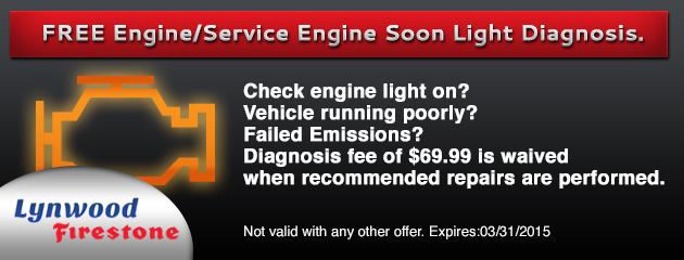 FREE Engine/Service Engine Soon Light Diagnosis.