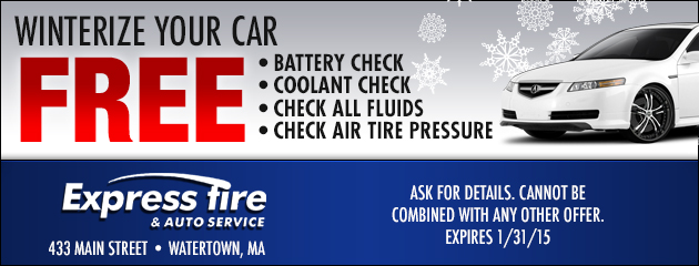 Winterize Your Car For Free