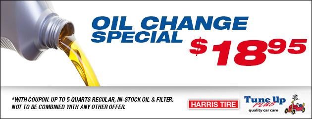 Oil Change Special - $18.95