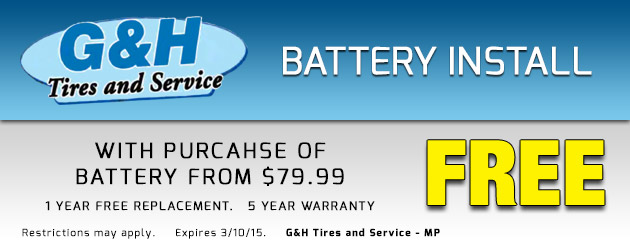 Battery Install
