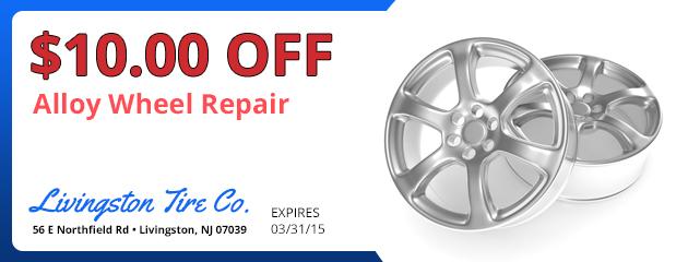 Alloy Wheel Repair - $10.00 Off