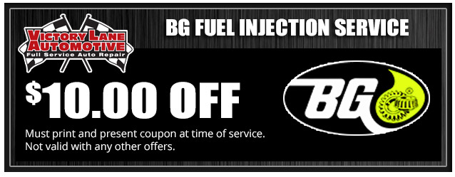 $10 OFF BG Fuel Injection Service