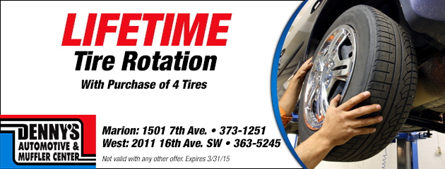 Lifetime Tire Rotation