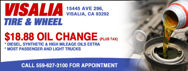 $18.88 Oil Change Special