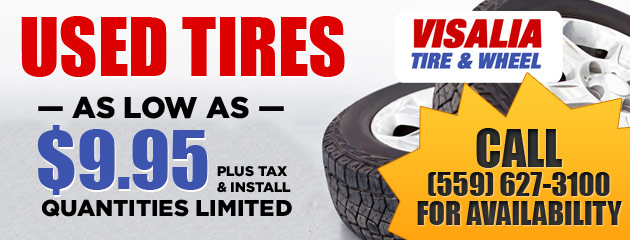 $9.95 Used Tires