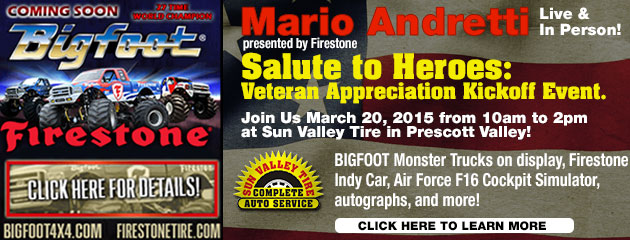 Big Foot & Andretti Kick Off Event