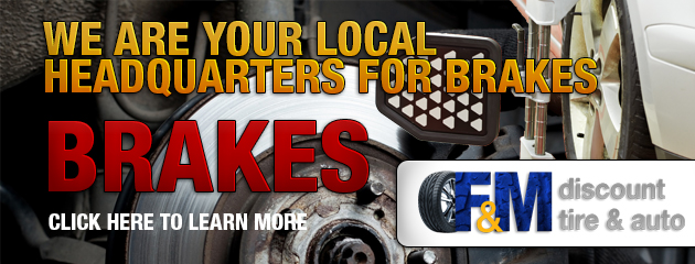 We are your Local Headquarters for Brakes