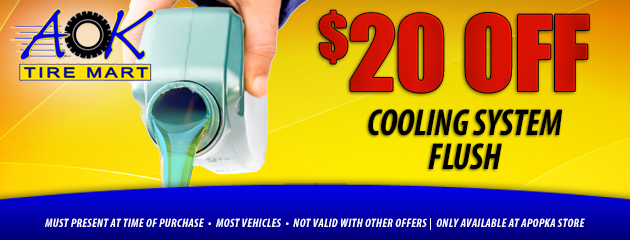 $20 Off cooling system flush