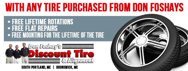 With Any Tire Purchased