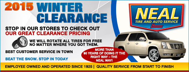 2015 winter clearance