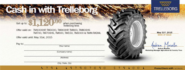 Cash in with Trelleborg