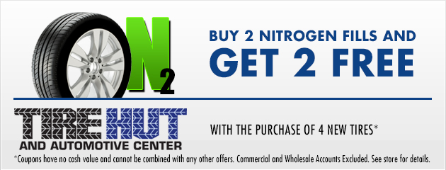 Buy 2 Nitrogen Fills and get 2 Free