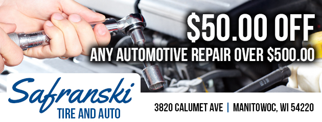 $50.00 Off any Automotive Repair over $500.00