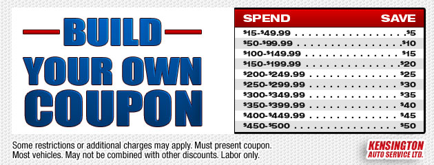 Build Your Own Coupon