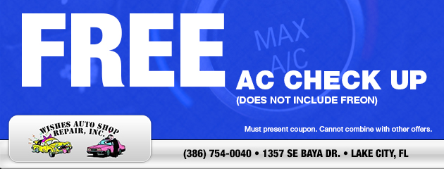 FREE A/C Check Up