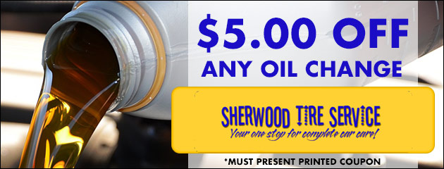 $5.00 off any oil change