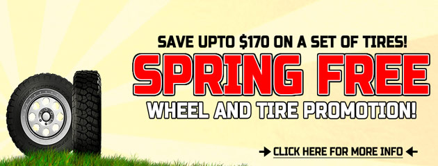 Spring Free promo