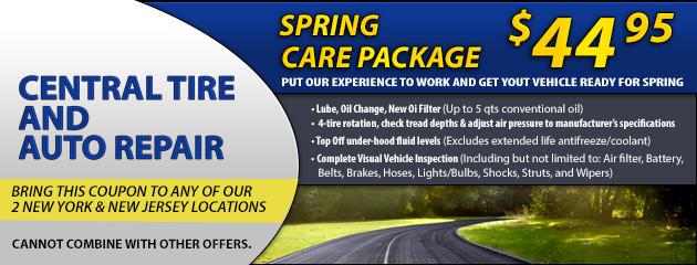 Spring Car Care Pacakge