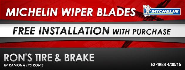 Michelin Wiper Blades Free Installation