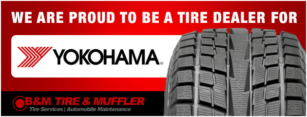 We are a proud dealer of Yokohama tires.