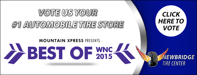 Vote us your #1 Automobile Tire Store