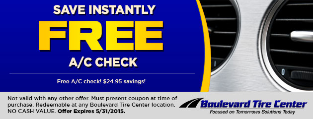 SAVE INSTANTLY – FREE A/C CHECK