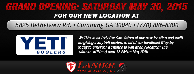 Grand Opening for our new location at 5825 Bethelview Rd. in Cumming, GA
