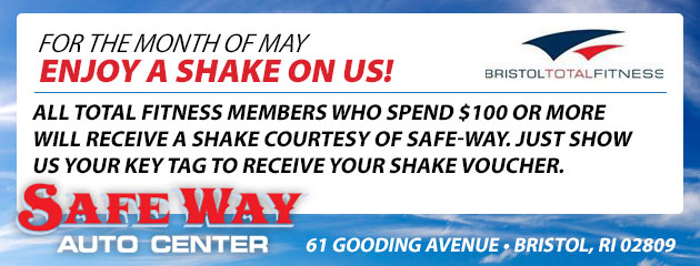 For the month of May enjoy a shake on us!