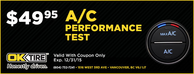 AC Performance Test $49.95