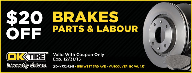 Brakes 20% Off