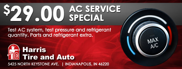 AC Service Special - $29.00