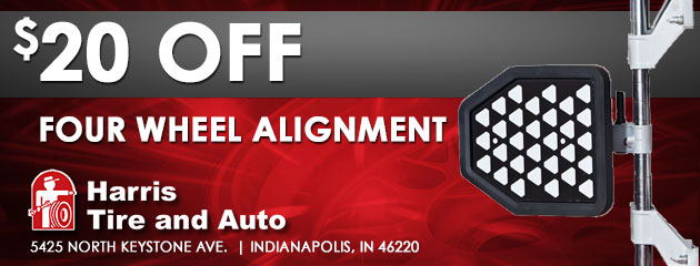 Four Wheel Alignment - $20 off