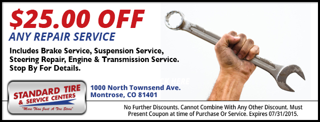 $25.00 OFF ANY REPAIR SERVICE