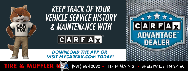 Keep Track of Your Vehicle Service History & Maintenance with CarFax!
