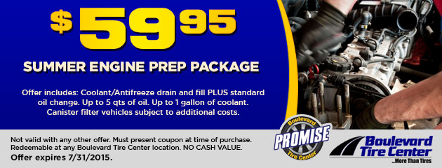 SUMMER ENGINE PREP-$59.95