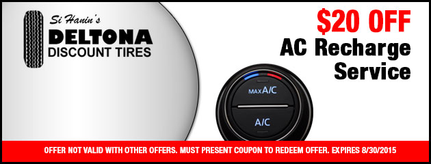 $20 Off AC Recharge Service