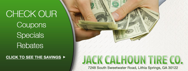 Jack Calhoun Tire Co. Savings