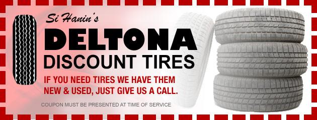 Deltona Discount Tire Savings