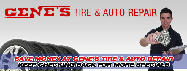 Genes Tire_Coupon Specials