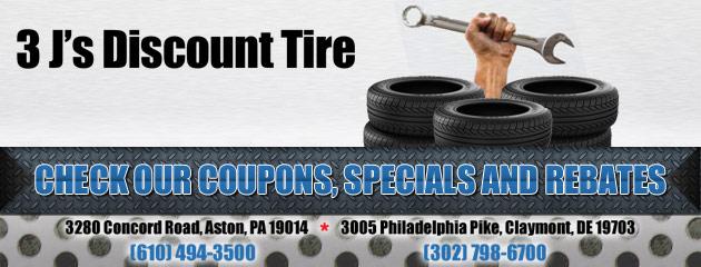 3 Js Discount Tire Savings